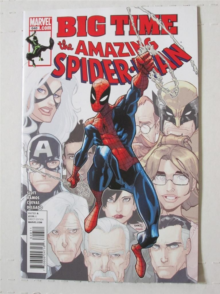 MARVEL The Amazing Spider-Man Big Time Issue 648 (Comic) [New VF]