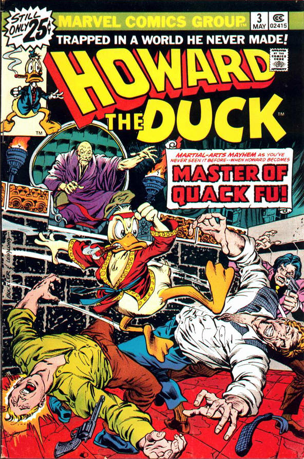 MARVEL Howard The Duck Issue 3 Martial-Arts Mayhem (Comic) [New VF]