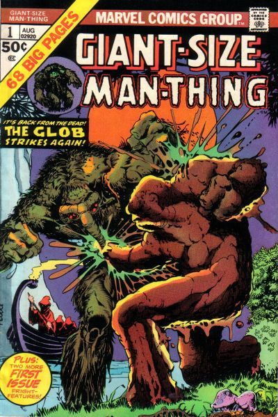 MARVEL Man-Thing Giant-Size Issue 1 (Comic) [New VG]