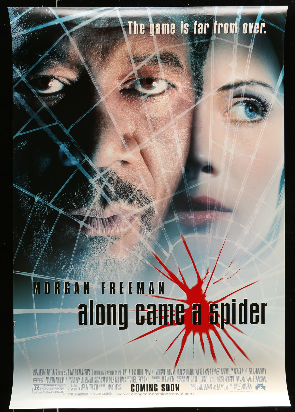 Along Came A Spider 2A413 A Part Of A Lot 20 Unfolded Mostly Double-Sided 27X40 One-Sheets '90S-00S Great Movie Images!