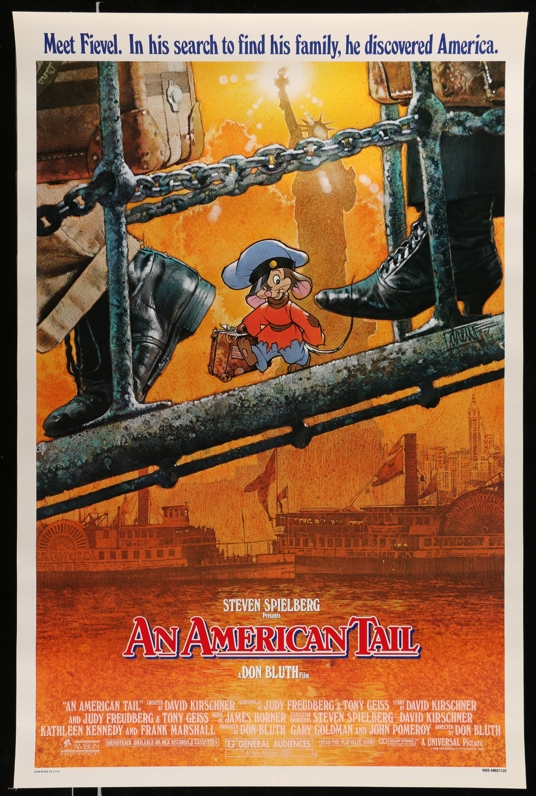 An American Tail 2A368 A Part Of A Lot 28 Unfolded Mostly Double-Sided Mostly 27X40 One-Sheets '70S-00S Cool Images!