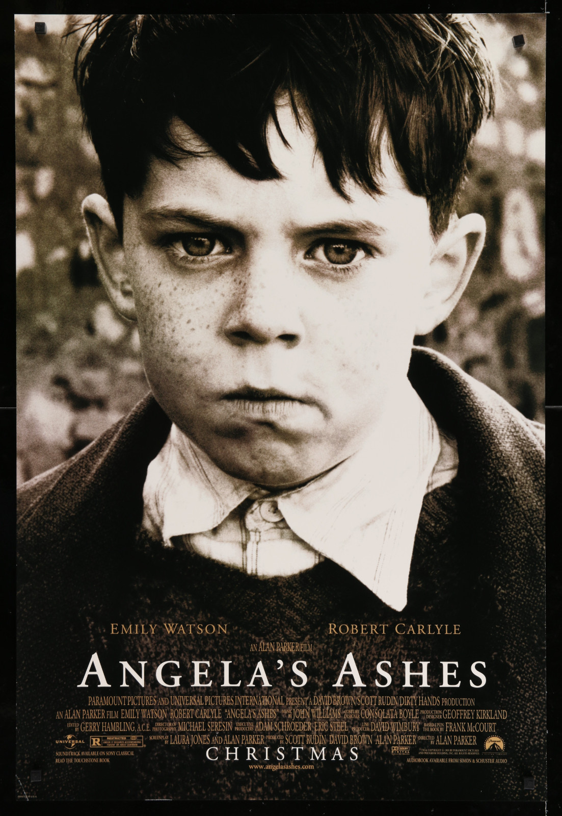 Angela'S Ashes 2A393 A Part Of A Lot 23 Unfolded Mostly Double-Sided 27X40 One-Sheets '90S Great Movie Images!