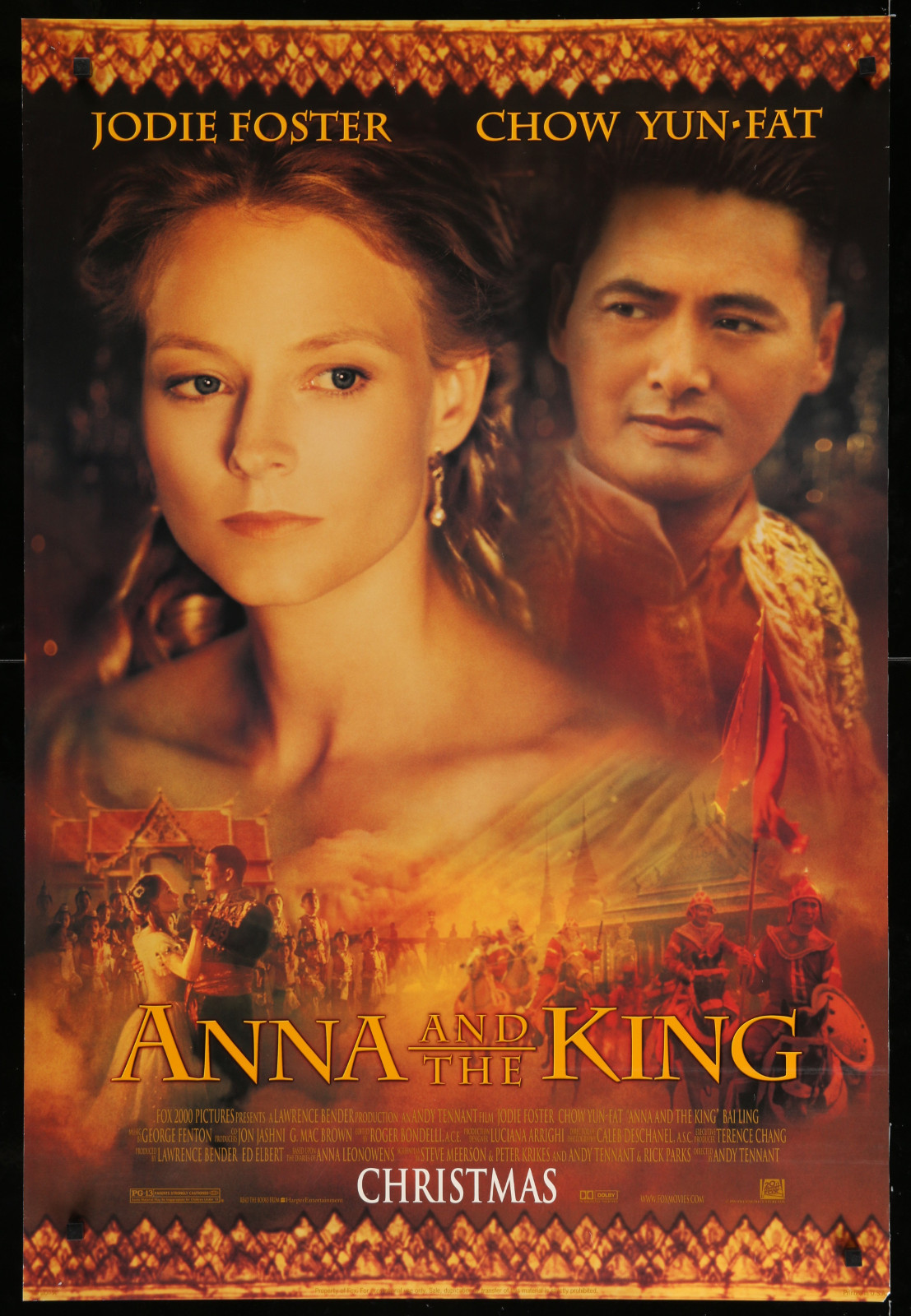 Anna And The King 2A393 A Part Of A Lot 23 Unfolded Mostly Double-Sided 27X40 One-Sheets '90S Great Movie Images!
