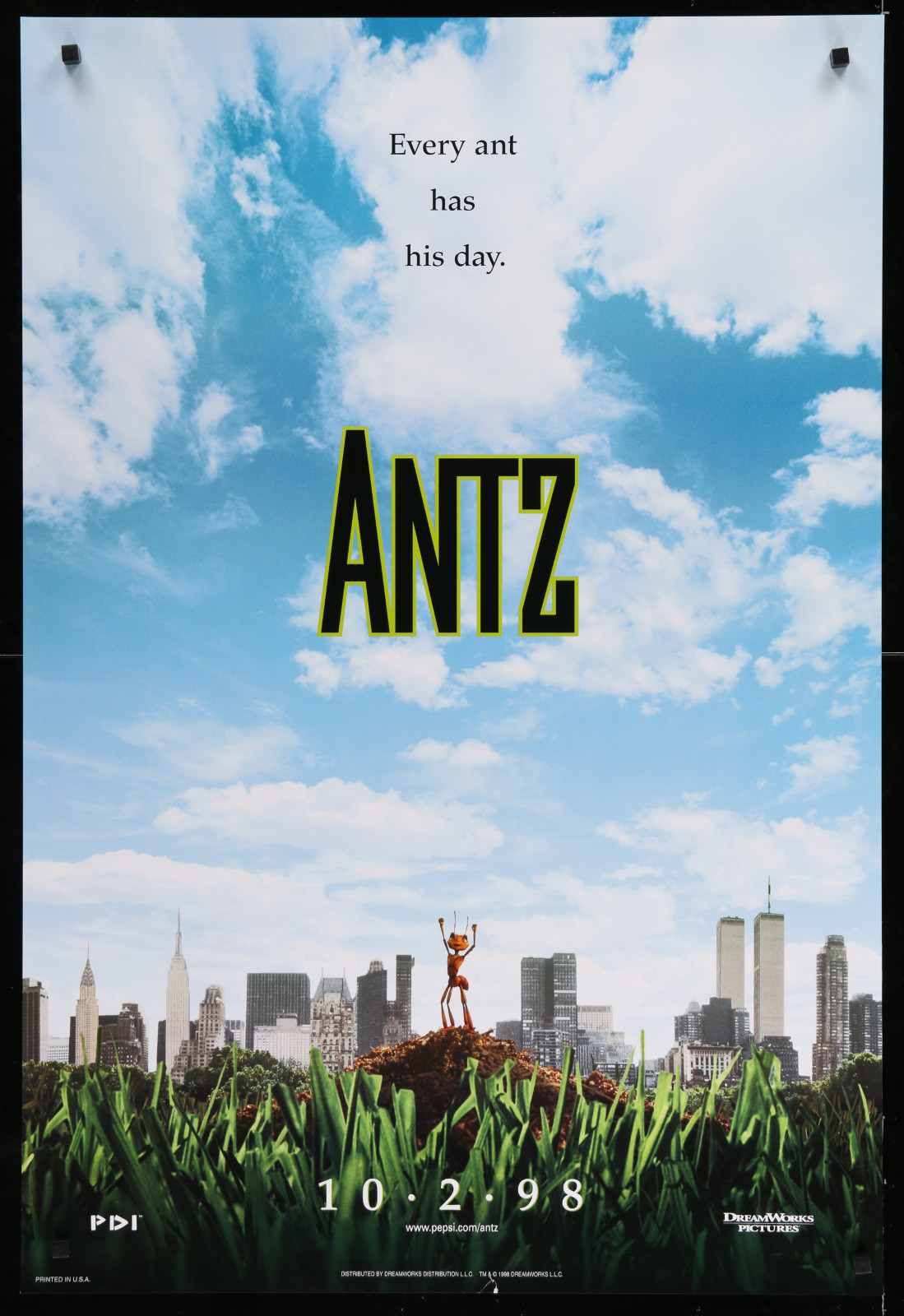 Antz 2A393 A Part Of A Lot 23 Unfolded Mostly Double-Sided 27X40 One-Sheets '90S Great Movie Images!