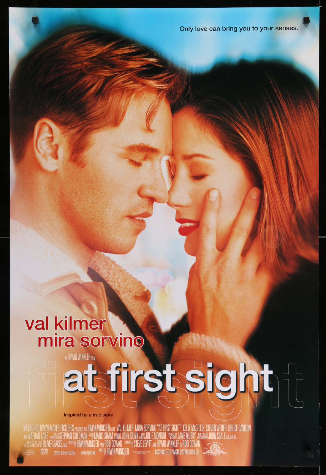 At First Sight 2A393 A Part Of A Lot 23 Unfolded Mostly Double-Sided 27X40 One-Sheets '90S Great Movie Images!