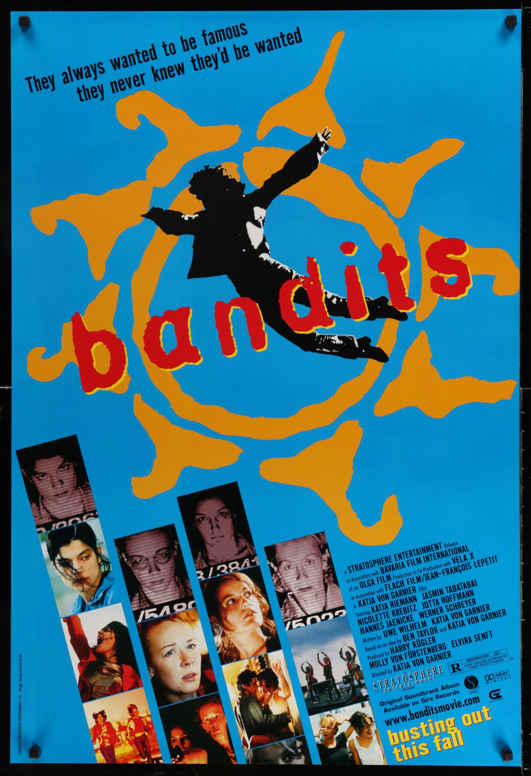 Bandits 2A391 A Part Of A Lot 24 Unfolded Double-Sided 27X40 One-Sheets '90S-00S Great Movie Images!