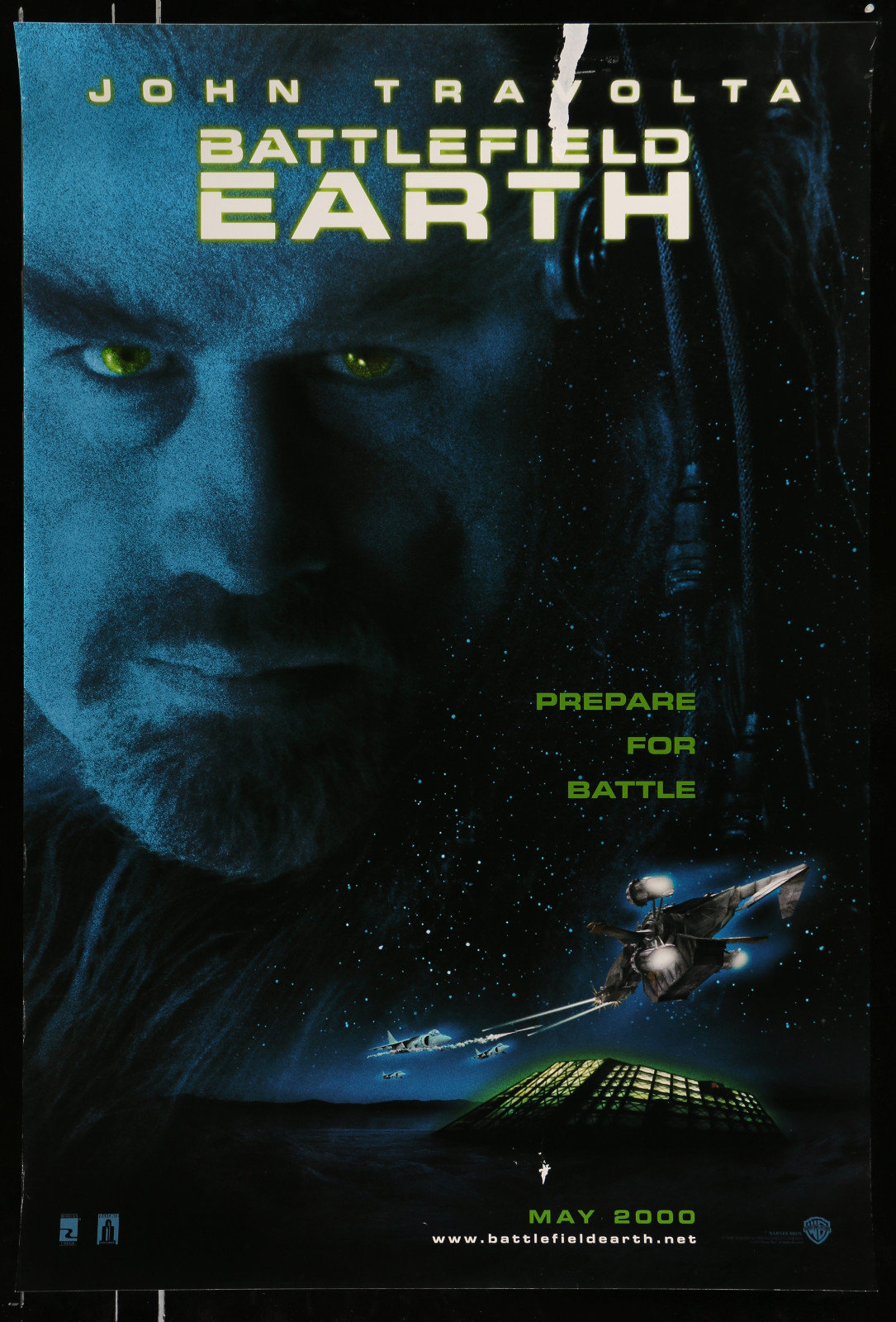 Battlefield Earth 2A368 A Part Of A Lot 28 Unfolded Mostly Double-Sided Mostly 27X40 One-Sheets '70S-00S Cool Images!