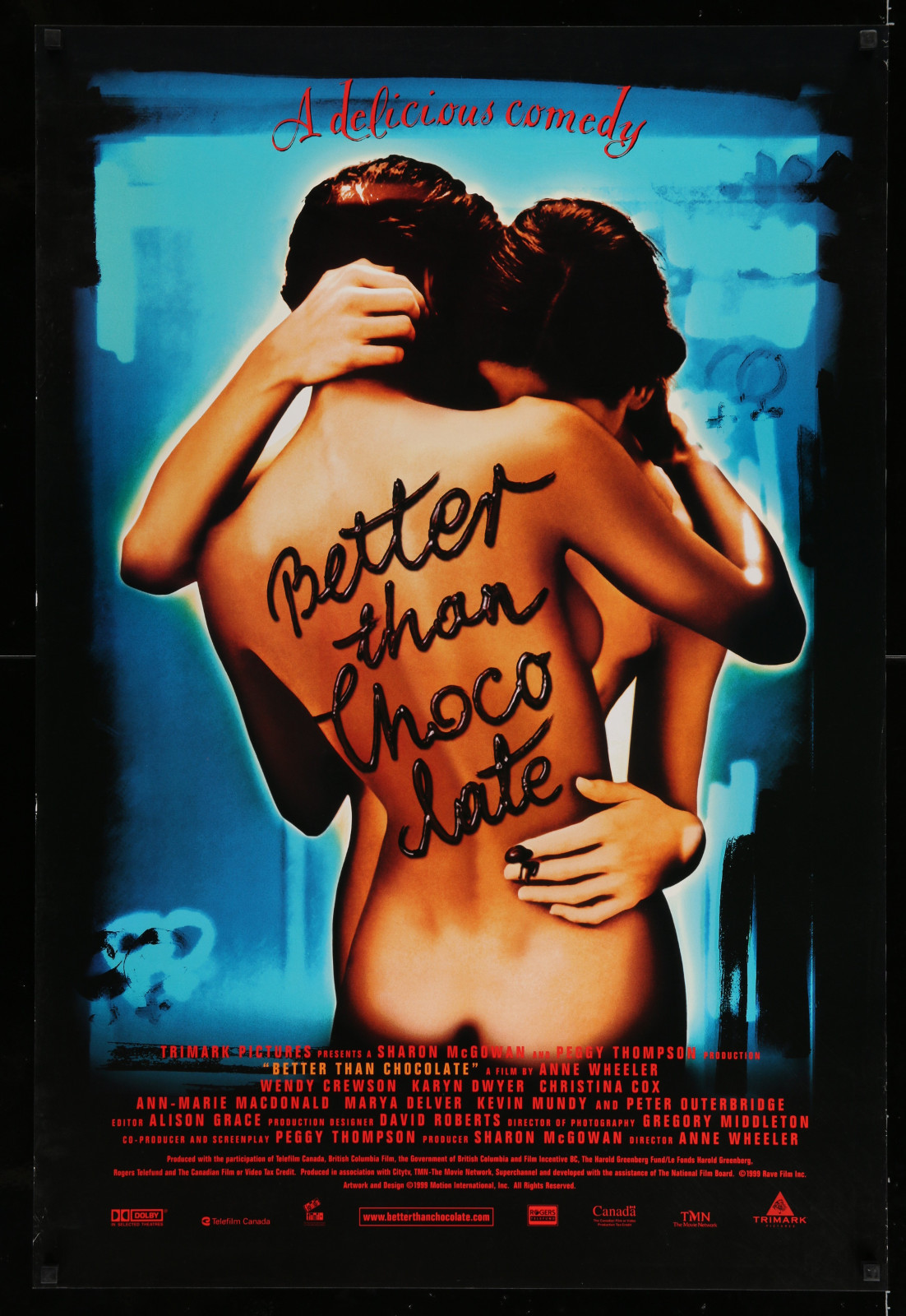 Better Than Chocolate 2A446 A Part Of A Lot 17 Unfolded Mostly Double-Sided 27X40 One-Sheets '90S-00S Great Movie Images!