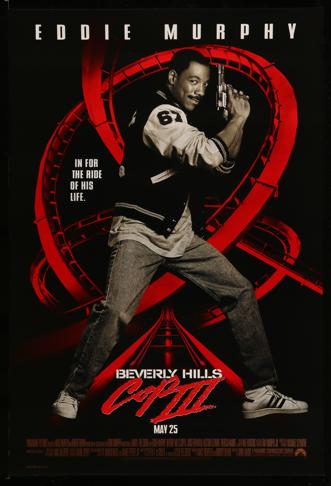 Beverly Hills Cop Iii 2A355 A Part Of A Lot 31 Unfolded Mostly Double-Sided 27X40 One-Sheets '90S Cool Movie Images!