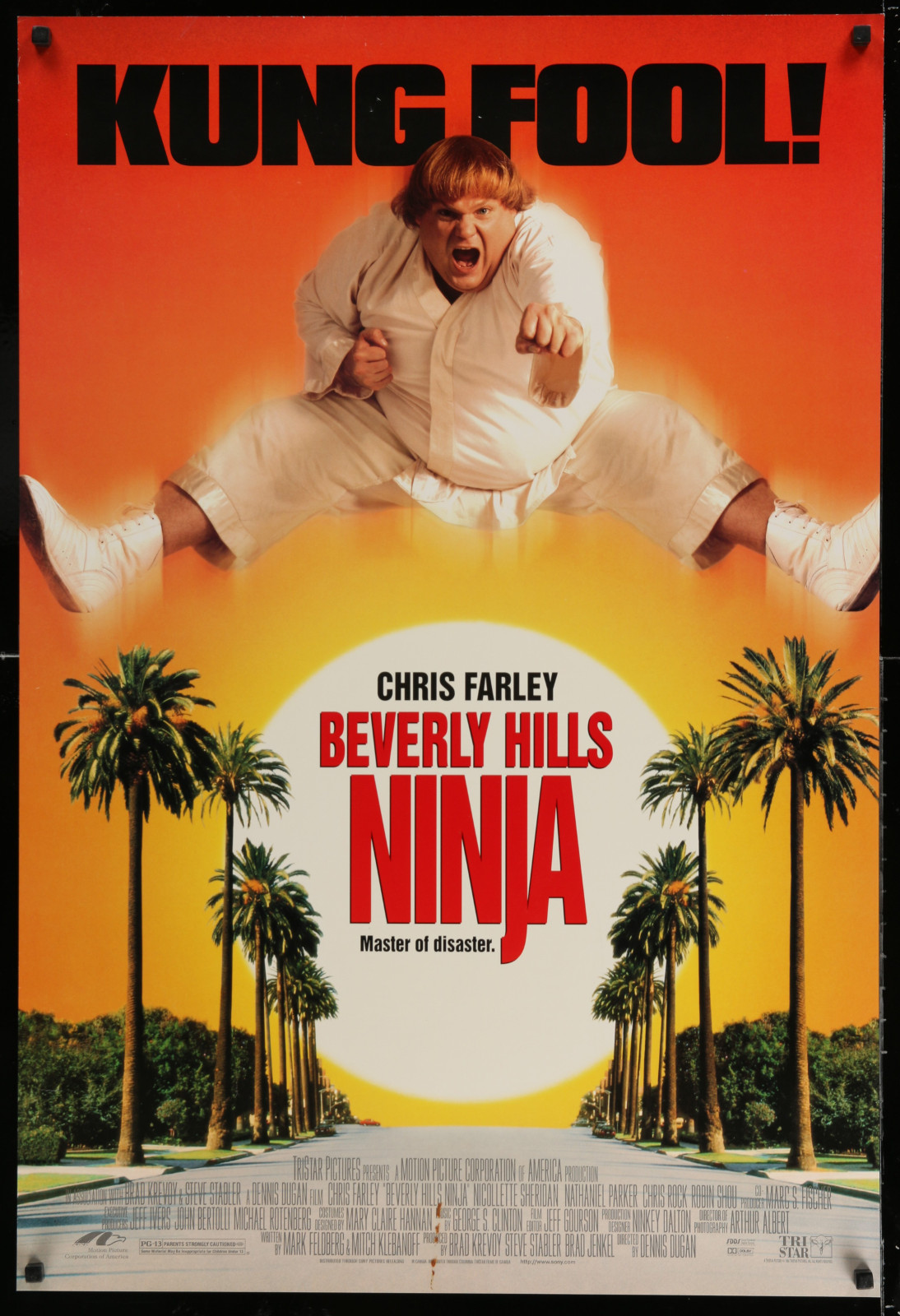 Beverly Hills Ninja 2A438 A Part Of A Lot 18 Unfolded Double-Sided 27X40 Mostly Comedy One-Sheets '90S-00S Great Movie Images!