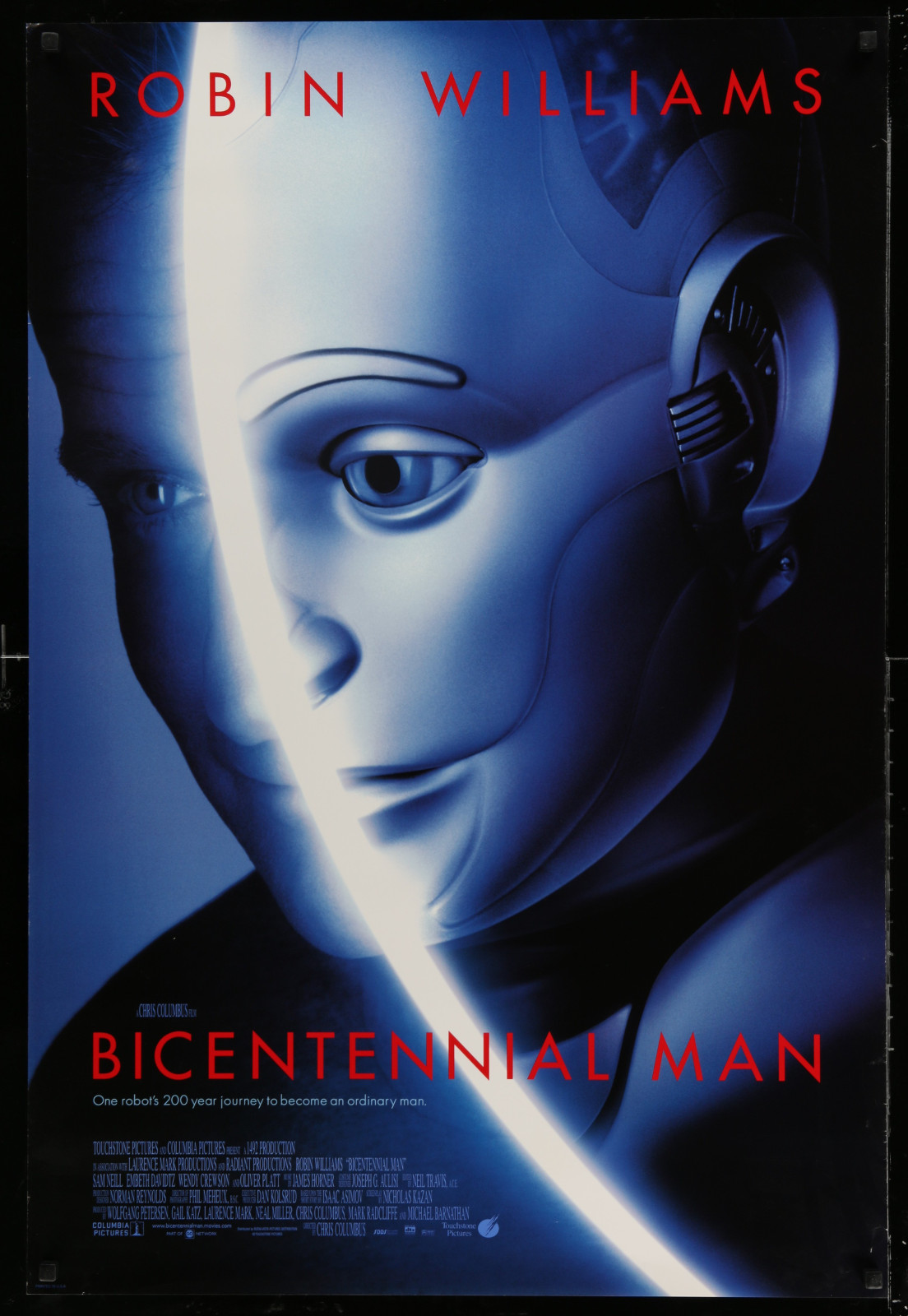 Bicentennial Man 2A391 A Part Of A Lot 24 Unfolded Double-Sided 27X40 One-Sheets '90S-00S Great Movie Images!