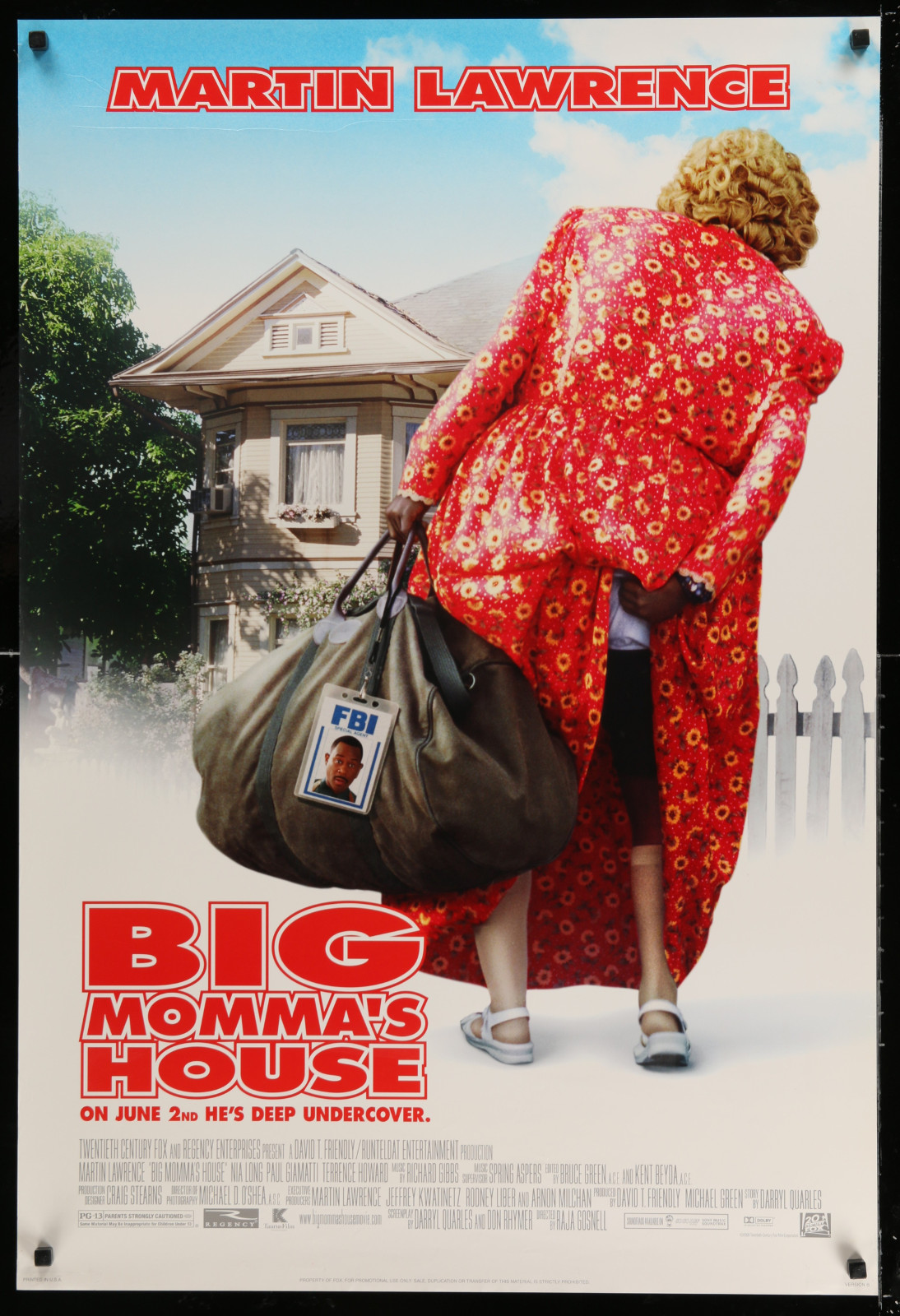 Big Momma'S House 2A438 A Part Of A Lot 18 Unfolded Double-Sided 27X40 Mostly Comedy One-Sheets '90S-00S Great Movie Images!