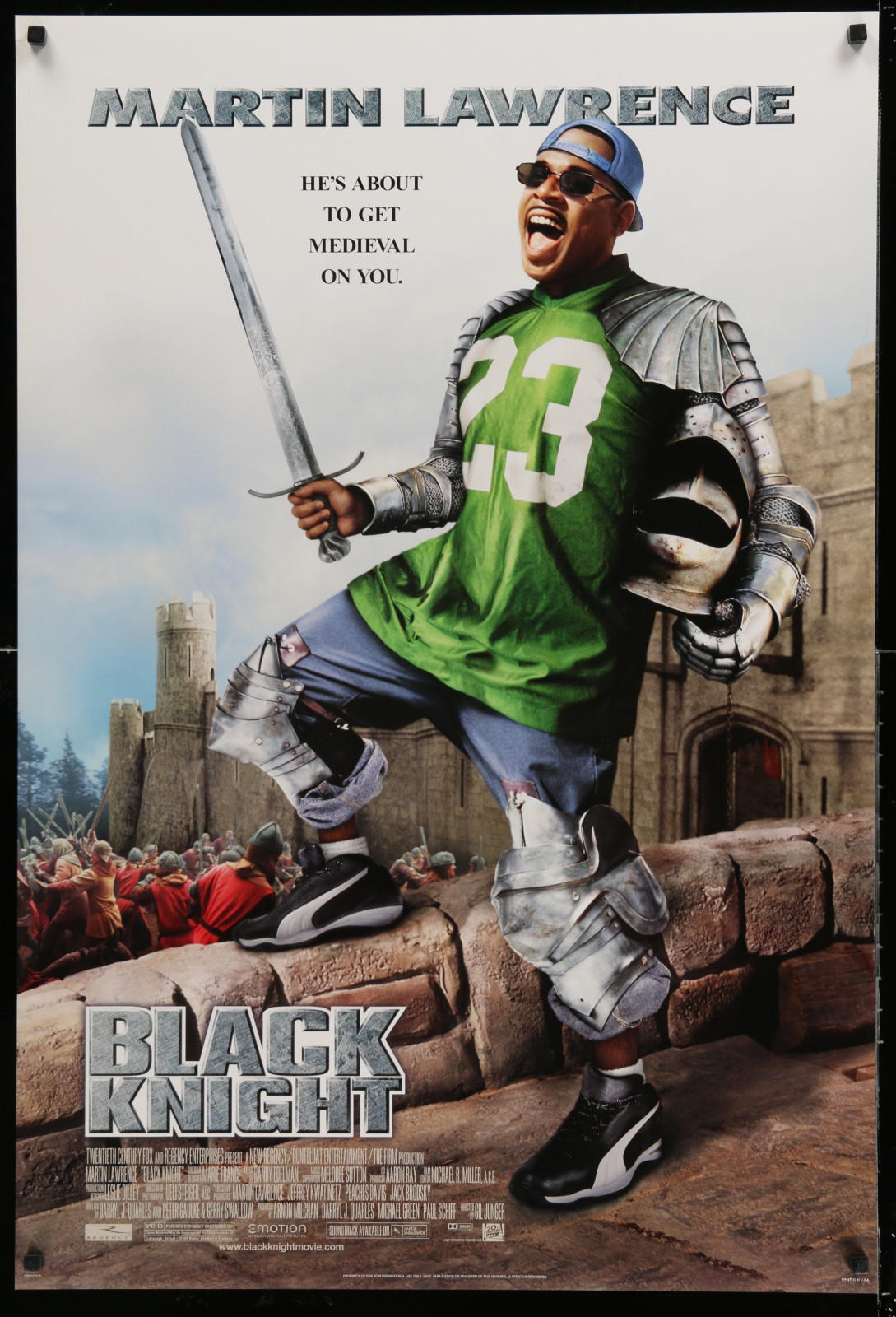 Black Knight 2A438 A Part Of A Lot 18 Unfolded Double-Sided 27X40 Mostly Comedy One-Sheets '90S-00S Great Movie Images!