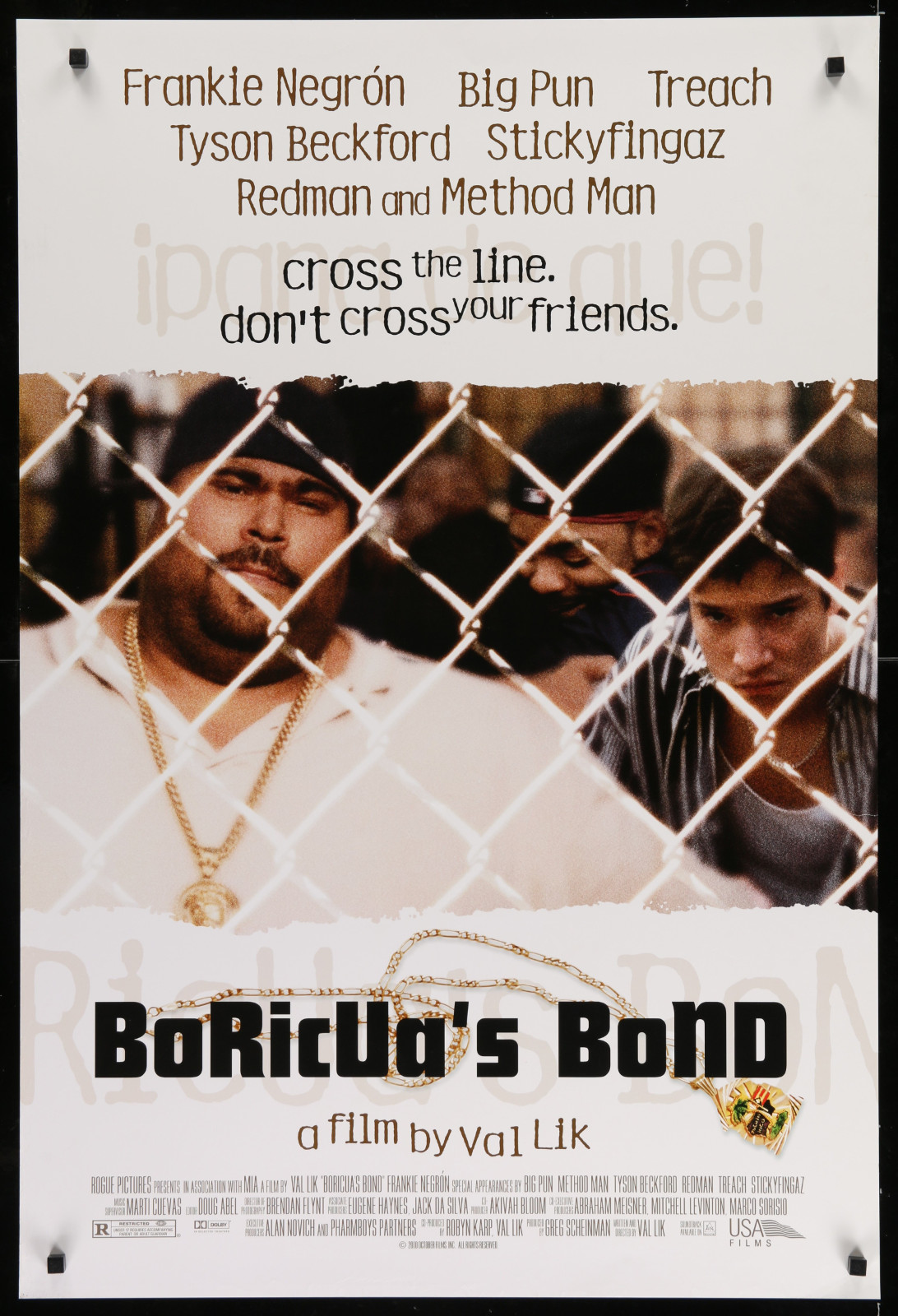 Boricua'S Bond 2A393 A Part Of A Lot 23 Unfolded Mostly Double-Sided 27X40 One-Sheets '90S Great Movie Images!
