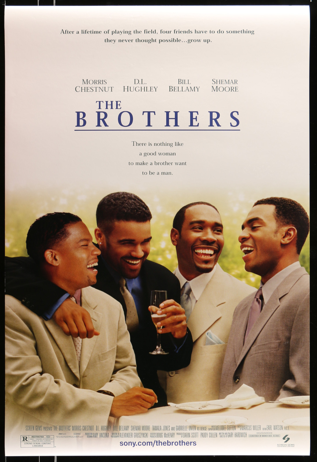 The Brothers 2A413 A Part Of A Lot 20 Unfolded Mostly Double-Sided 27X40 One-Sheets '90S-00S Great Movie Images!