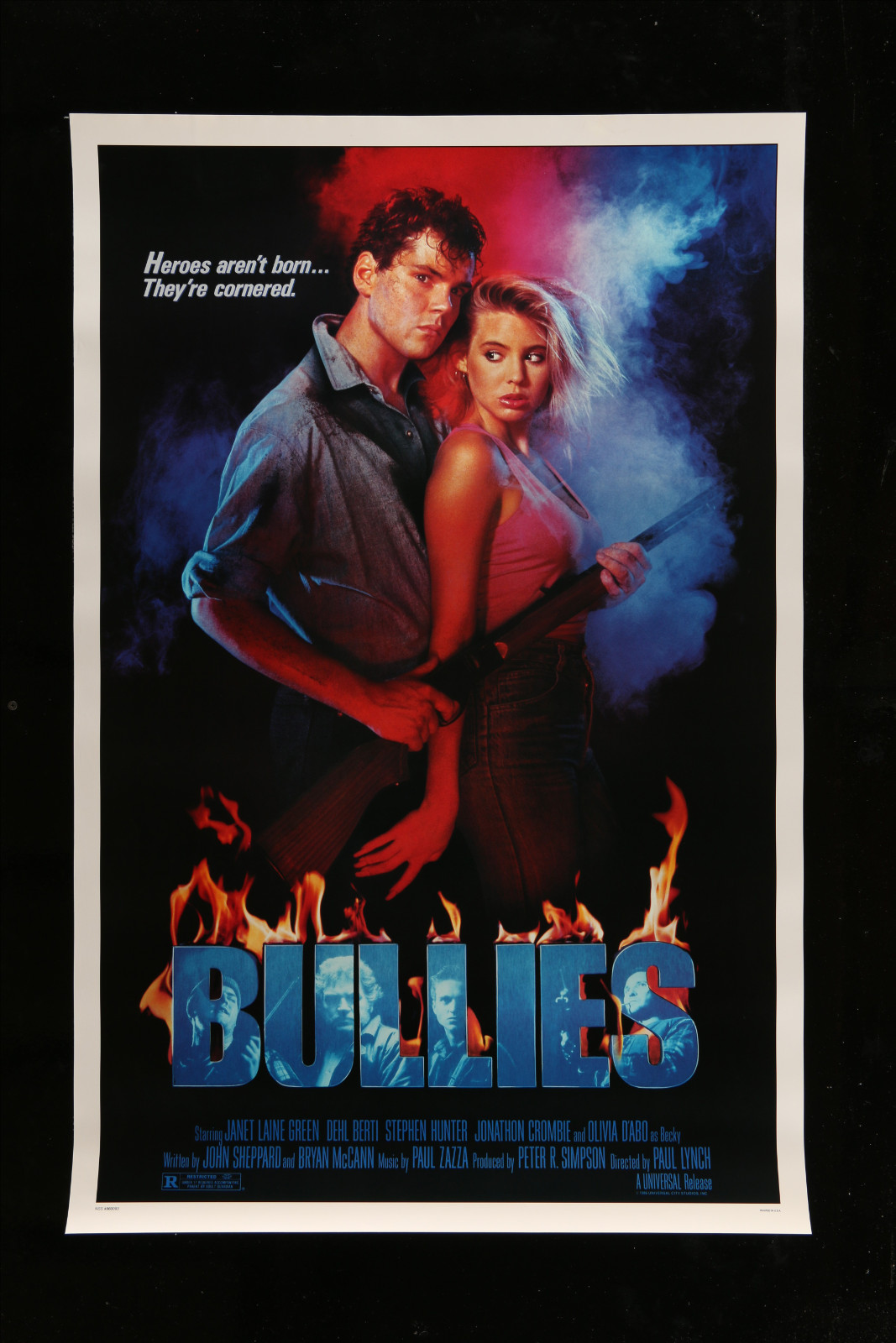 Bullies 2A360 A Part Of A Lot 30 Unfolded Mostly Double-Sided Mostly 27X40 One-Sheets '70S-00S Cool!