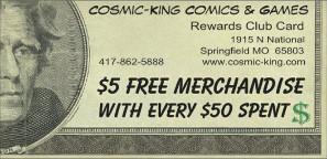 Cosmic-King Membership Card