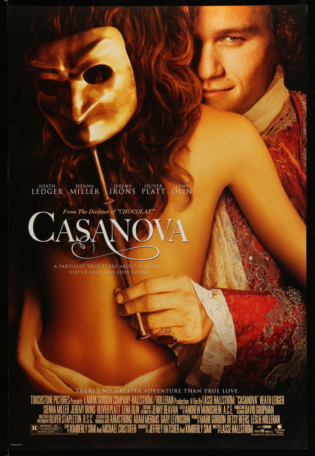 Casanova 2A396 A Part Of A Lot 22 Unfolded Mostly Double-Sided 27X40 One-Sheets '00S A Variety Of Movie Images!
