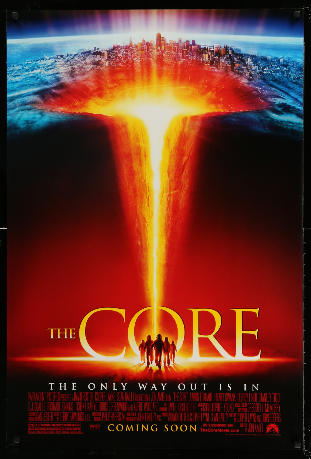 The Core 2A391 A Part Of A Lot 24 Unfolded Double-Sided 27X40 One-Sheets '90S-00S Great Movie Images!