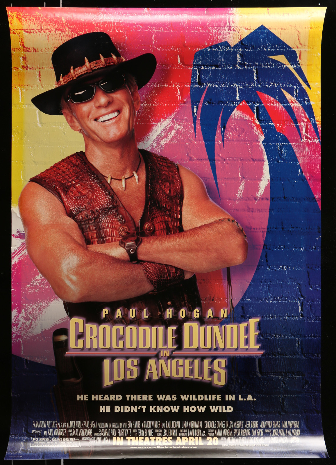 Crocodile Dundee In Los Angeles 2A413 A Part Of A Lot 20 Unfolded Mostly Double-Sided 27X40 One-Sheets '90S-00S Great Movie Images!
