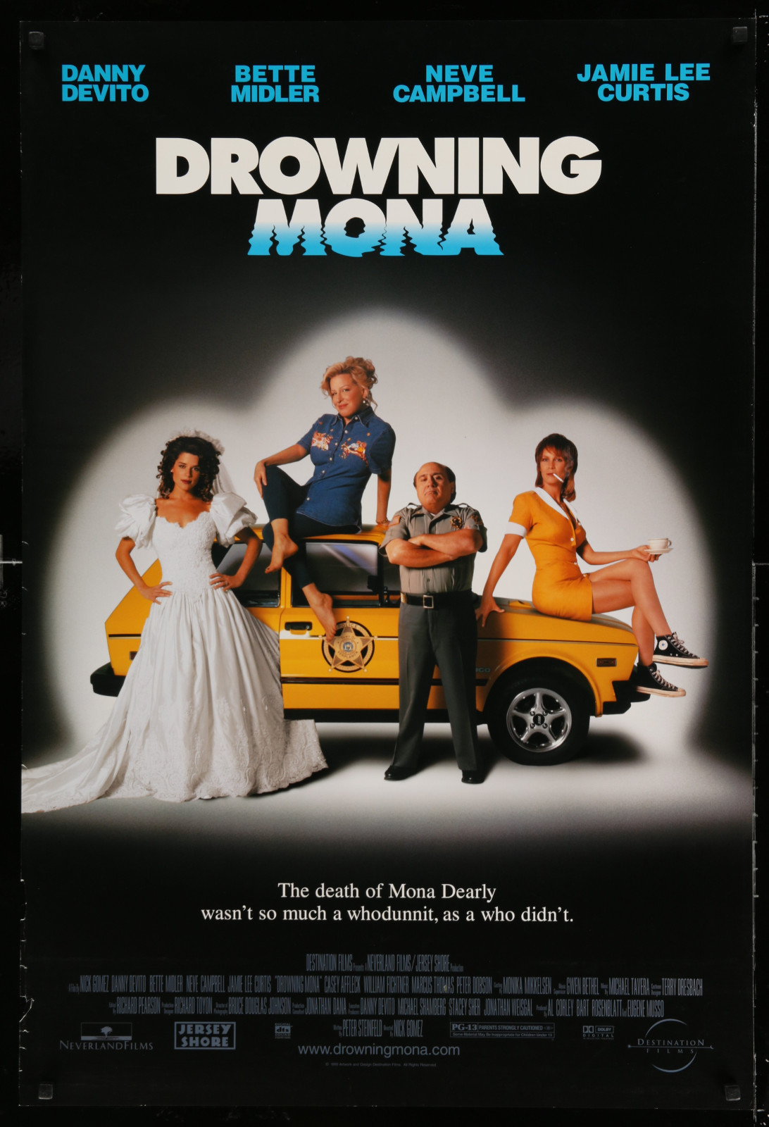 Drowning Mona 2A438 A Part Of A Lot 18 Unfolded Double-Sided 27X40 Mostly Comedy One-Sheets '90S-00S Great Movie Images!