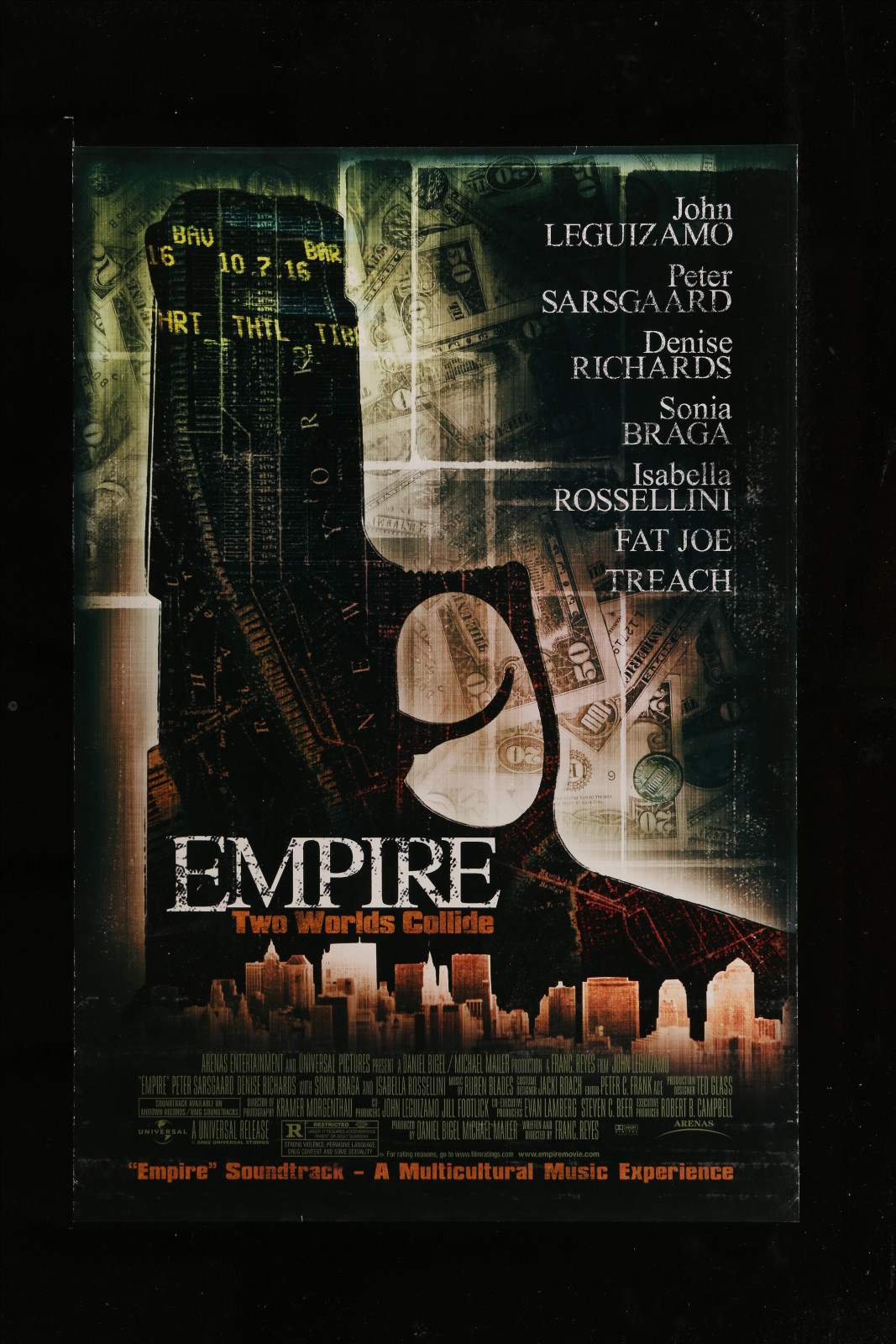Empire: Two Worlds Collide 2A360 A Part Of A Lot 30 Unfolded Mostly Double-Sided Mostly 27X40 One-Sheets '70S-00S Cool!