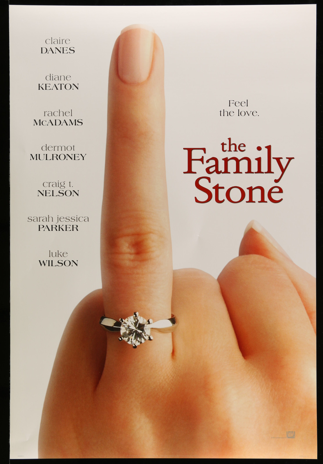 The Family Stone (Ring Finger) 2A396 A Part Of A Lot 22 Unfolded Mostly Double-Sided 27X40 One-Sheets '00S A Variety Of Movie Images!