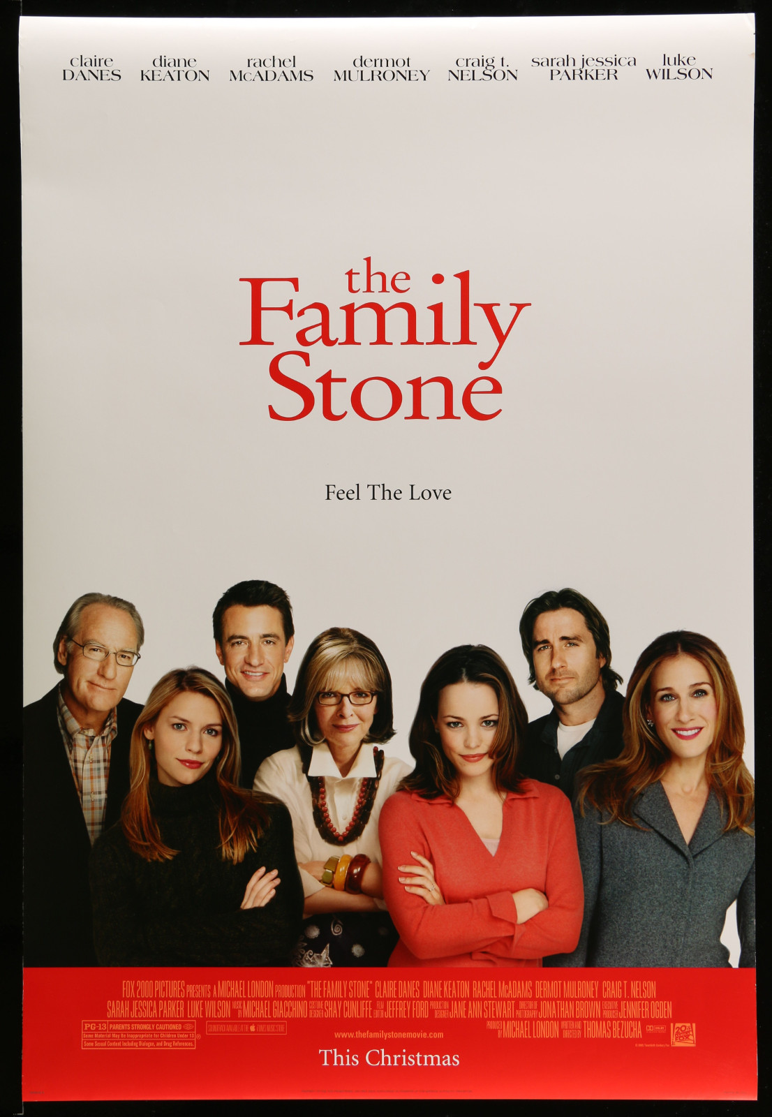 The Family Stone 2A396 A Part Of A Lot 22 Unfolded Mostly Double-Sided 27X40 One-Sheets '00S A Variety Of Movie Images!