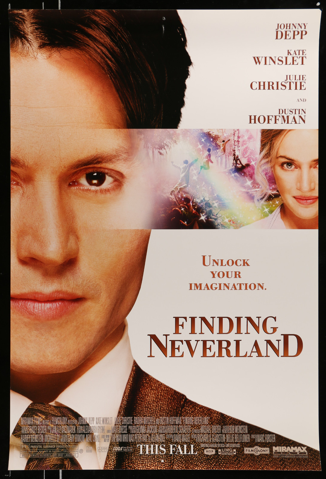 Finding Neverland 2A368 A Part Of A Lot 28 Unfolded Mostly Double-Sided Mostly 27X40 One-Sheets '70S-00S Cool Images!