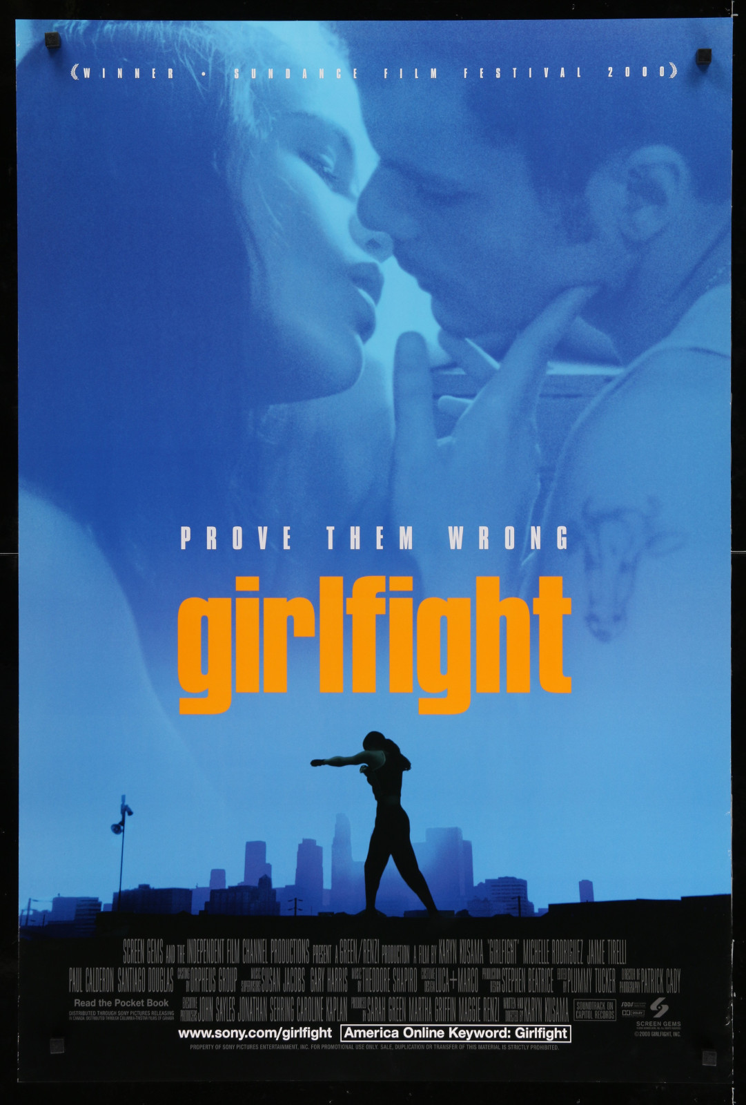 Girlfight 2A393 A Part Of A Lot 23 Unfolded Mostly Double-Sided 27X40 One-Sheets '90S Great Movie Images!