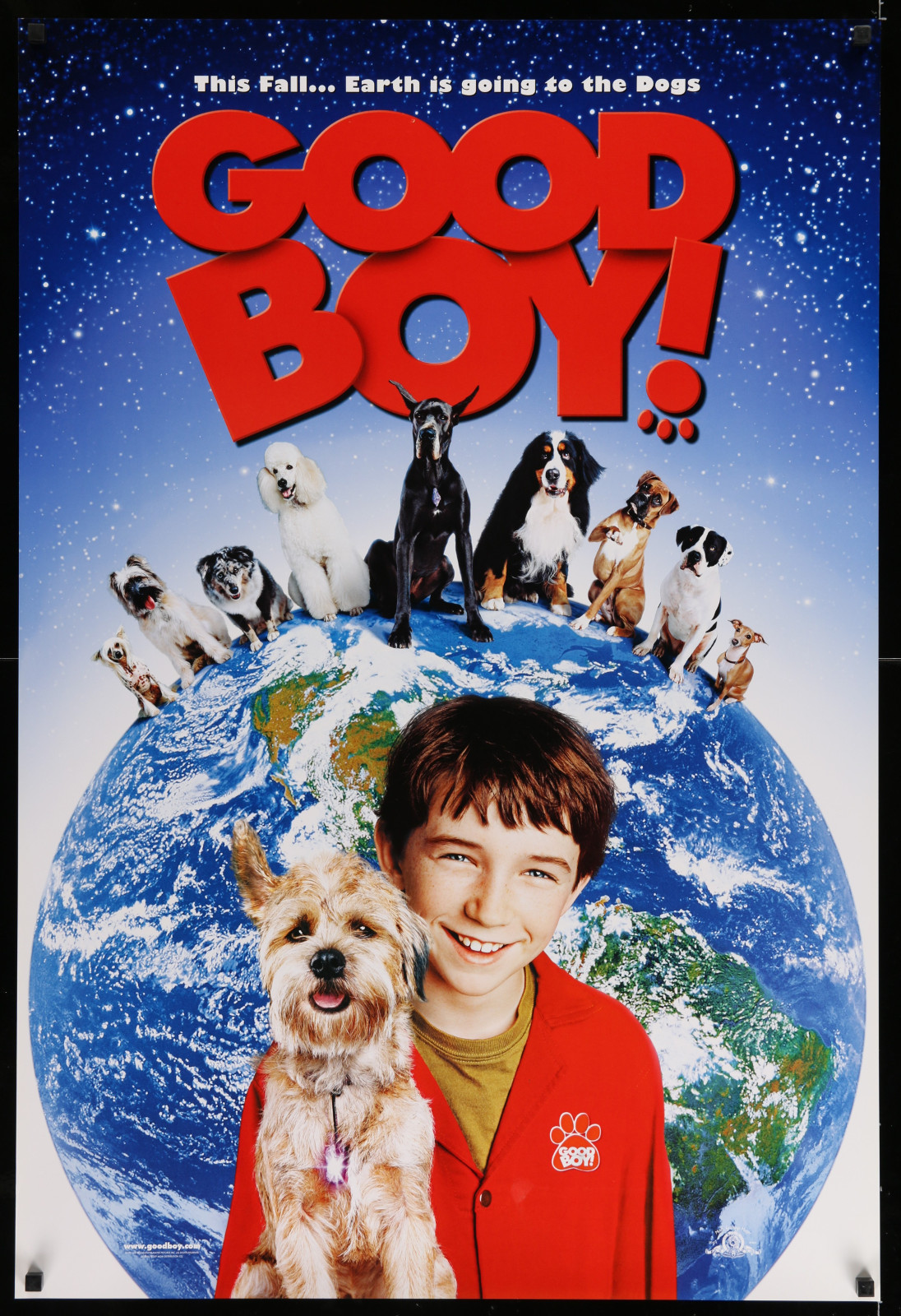 Good Boy! 2A446 A Part Of A Lot 17 Unfolded Mostly Double-Sided 27X40 One-Sheets '90S-00S Great Movie Images!