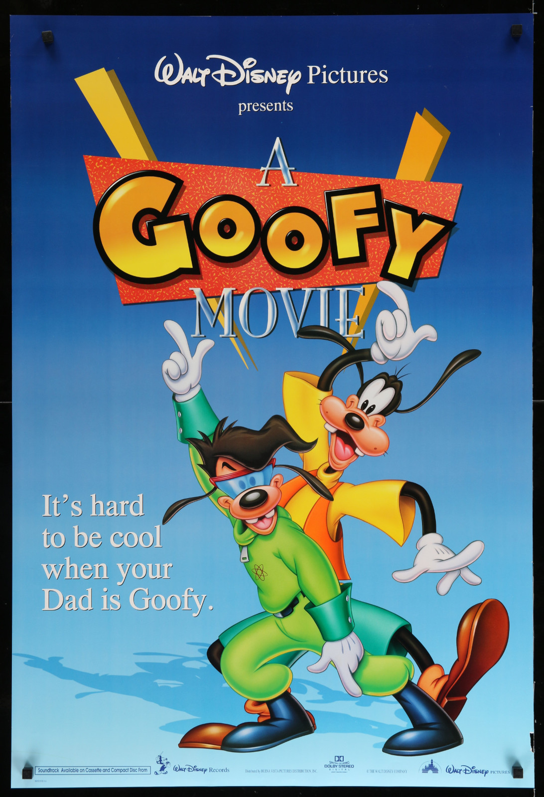 A Goofy Movie (Blue) 2A366 A Part Of A Lot 29 Unfolded Double-Sided 27X40 One-Sheets '90S-00S Great Movie Images!