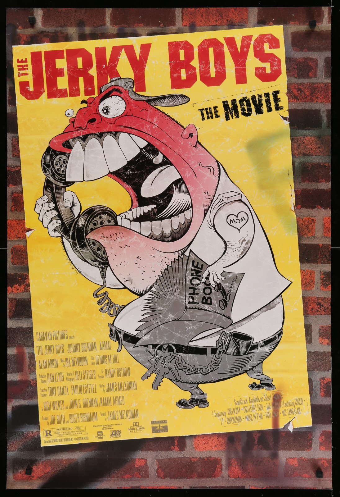 The Jerky Boys The Movie 2A366 A Part Of A Lot 29 Unfolded Double-Sided 27X40 One-Sheets '90S-00S Great Movie Images!