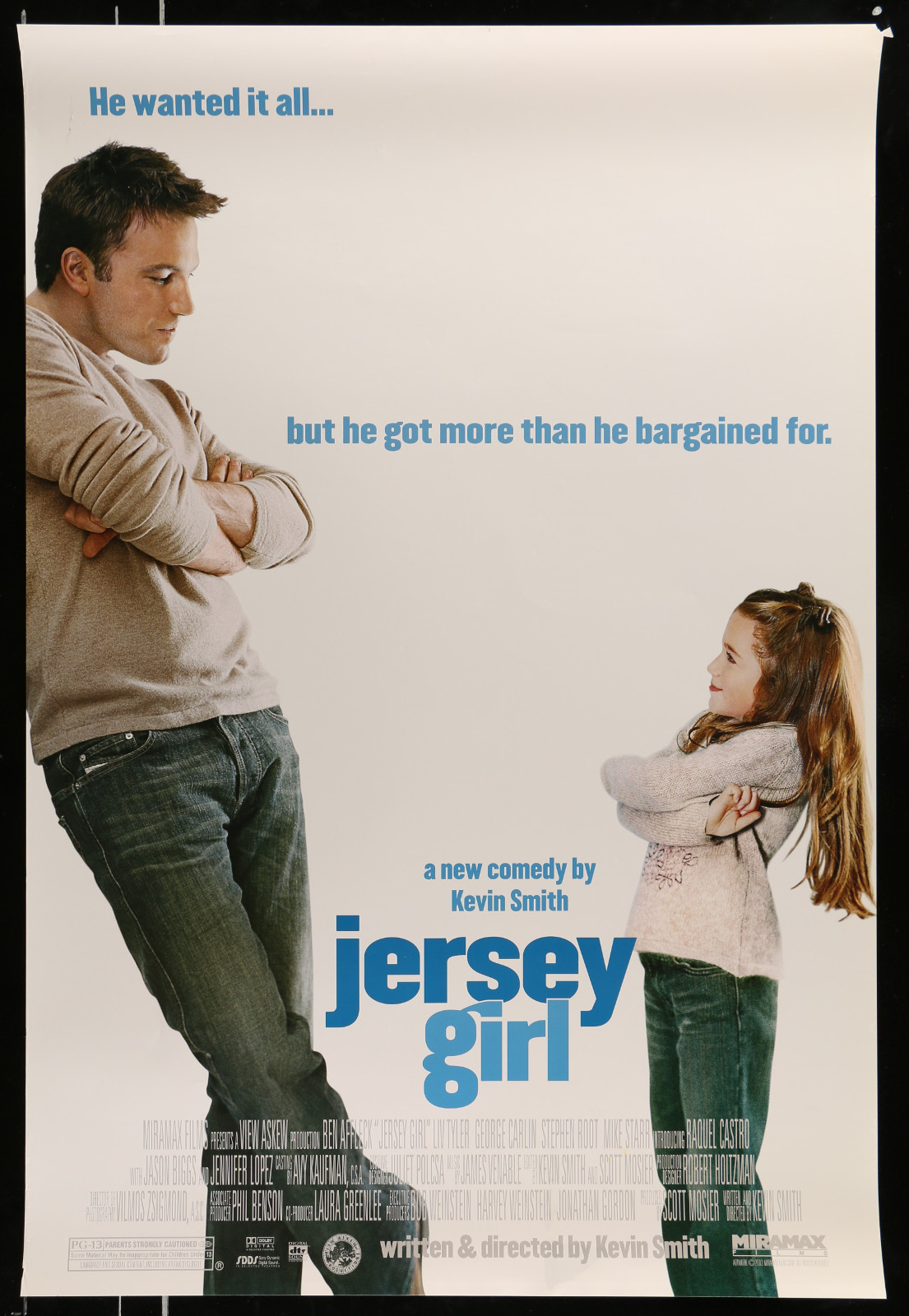Jersey Girl 2A368 A Part Of A Lot 28 Unfolded Mostly Double-Sided Mostly 27X40 One-Sheets '70S-00S Cool Images!