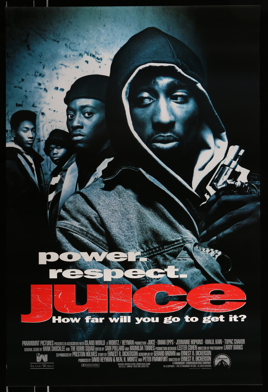 Juice 2A364 A Part Of A Lot 29 Unfolded Mostly Single-Sided 27X40 One-Sheets '90S-00S Great Movie Images!