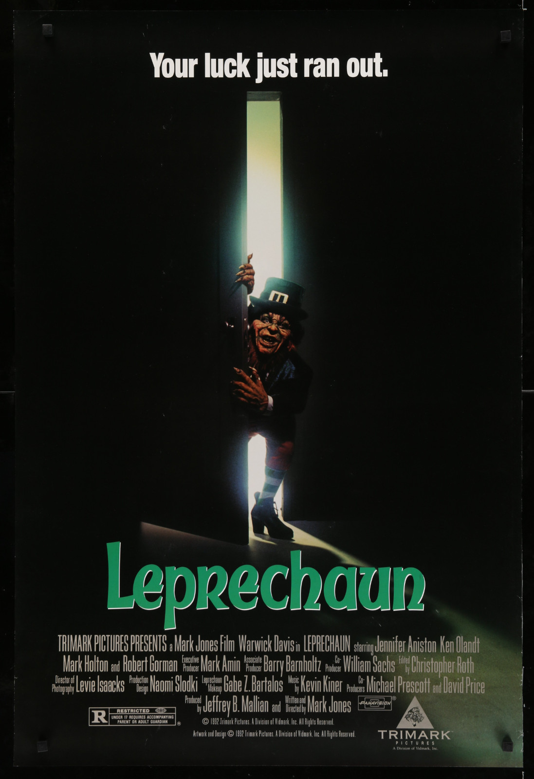 Leprechaun 2A393 A Part Of A Lot 23 Unfolded Mostly Double-Sided 27X40 One-Sheets '90S Great Movie Images!