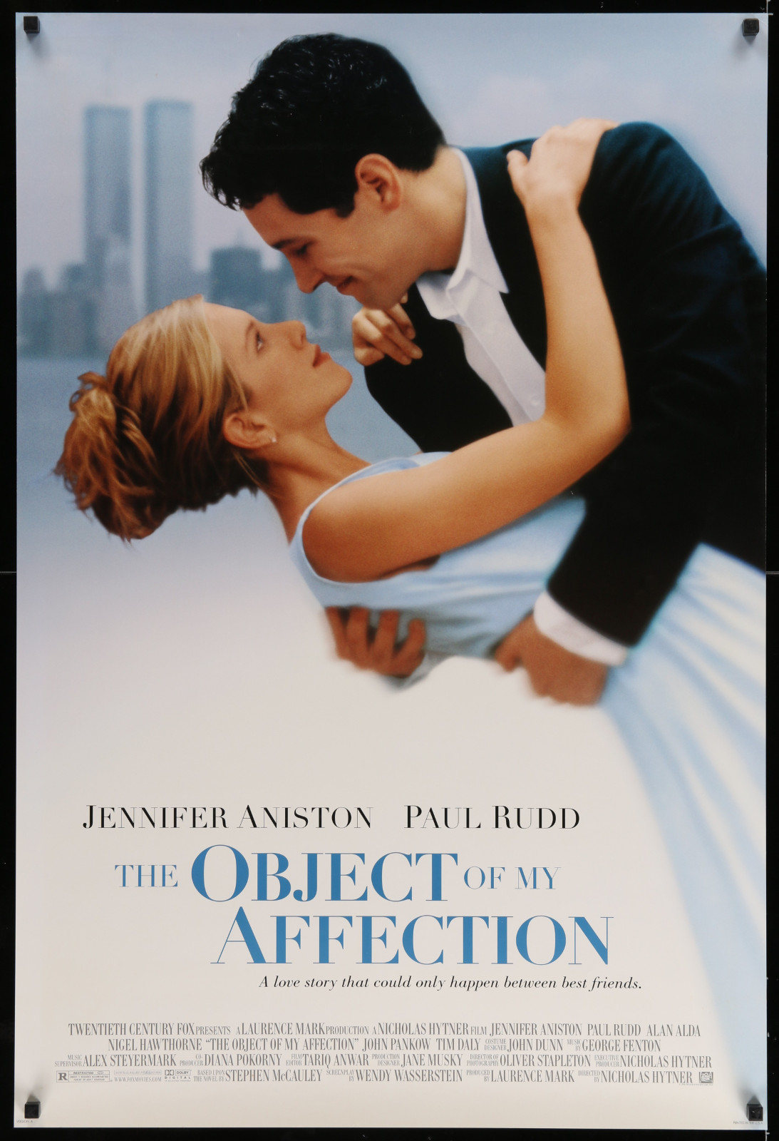 The Object Of My Affection 2A446 A Part Of A Lot 17 Unfolded Mostly Double-Sided 27X40 One-Sheets '90S-00S Great Movie Images!