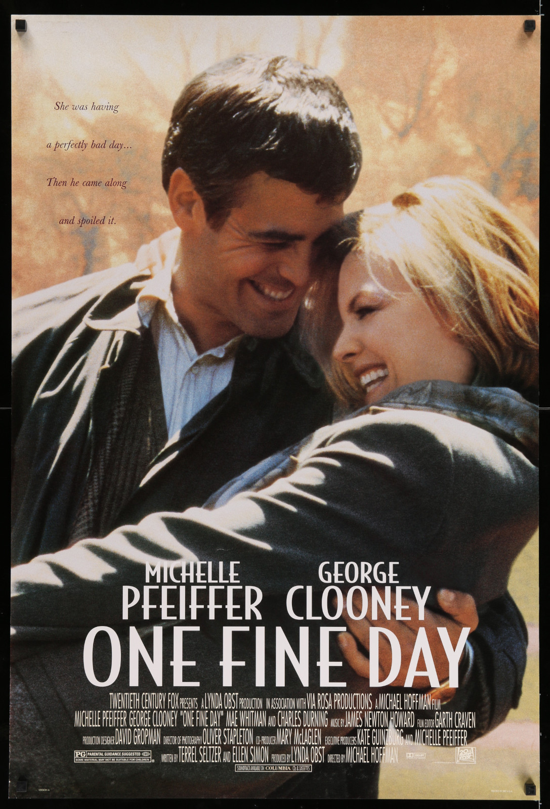 One Fine Day 2A446 A Part Of A Lot 17 Unfolded Mostly Double-Sided 27X40 One-Sheets '90S-00S Great Movie Images!