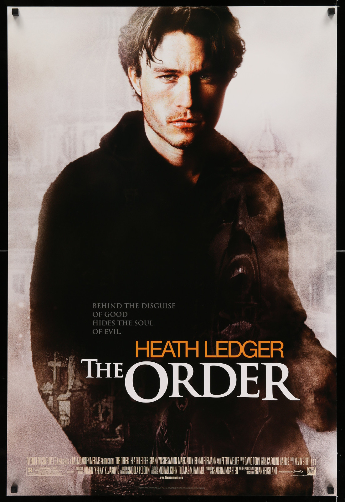 The Order 2A446 A Part Of A Lot 17 Unfolded Mostly Double-Sided 27X40 One-Sheets '90S-00S Great Movie Images!