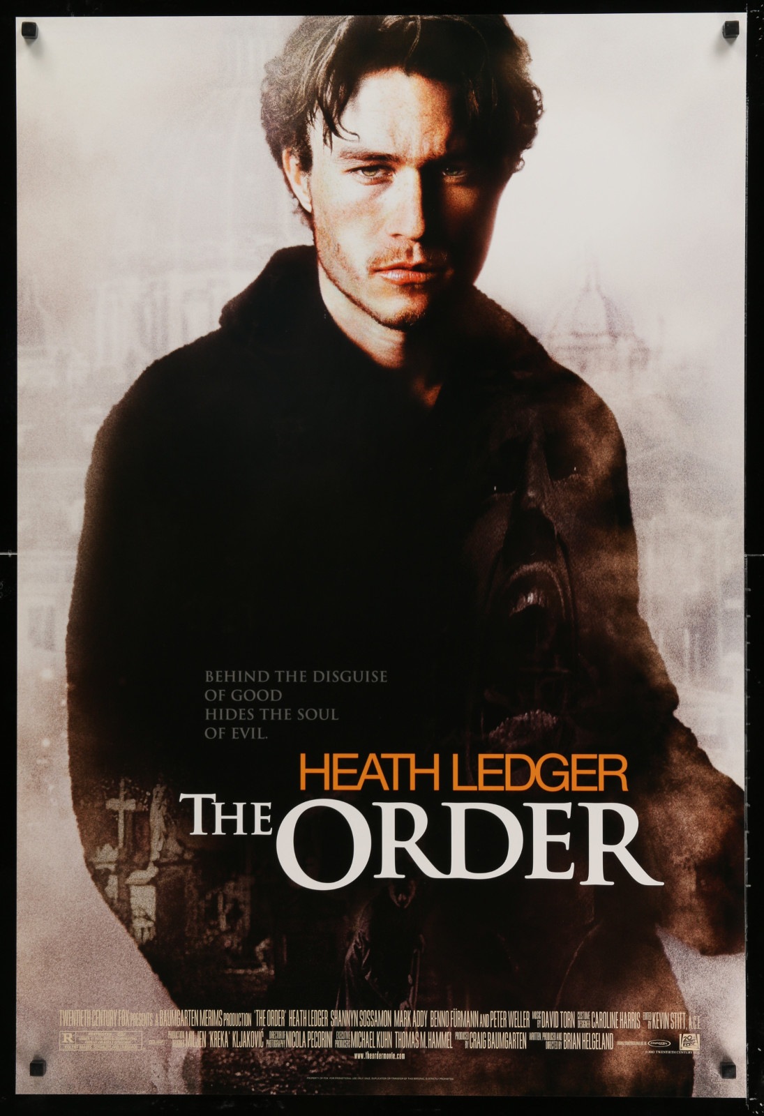 The Order 2A391 A Part Of A Lot 24 Unfolded Double-Sided 27X40 One-Sheets '90S-00S Great Movie Images!
