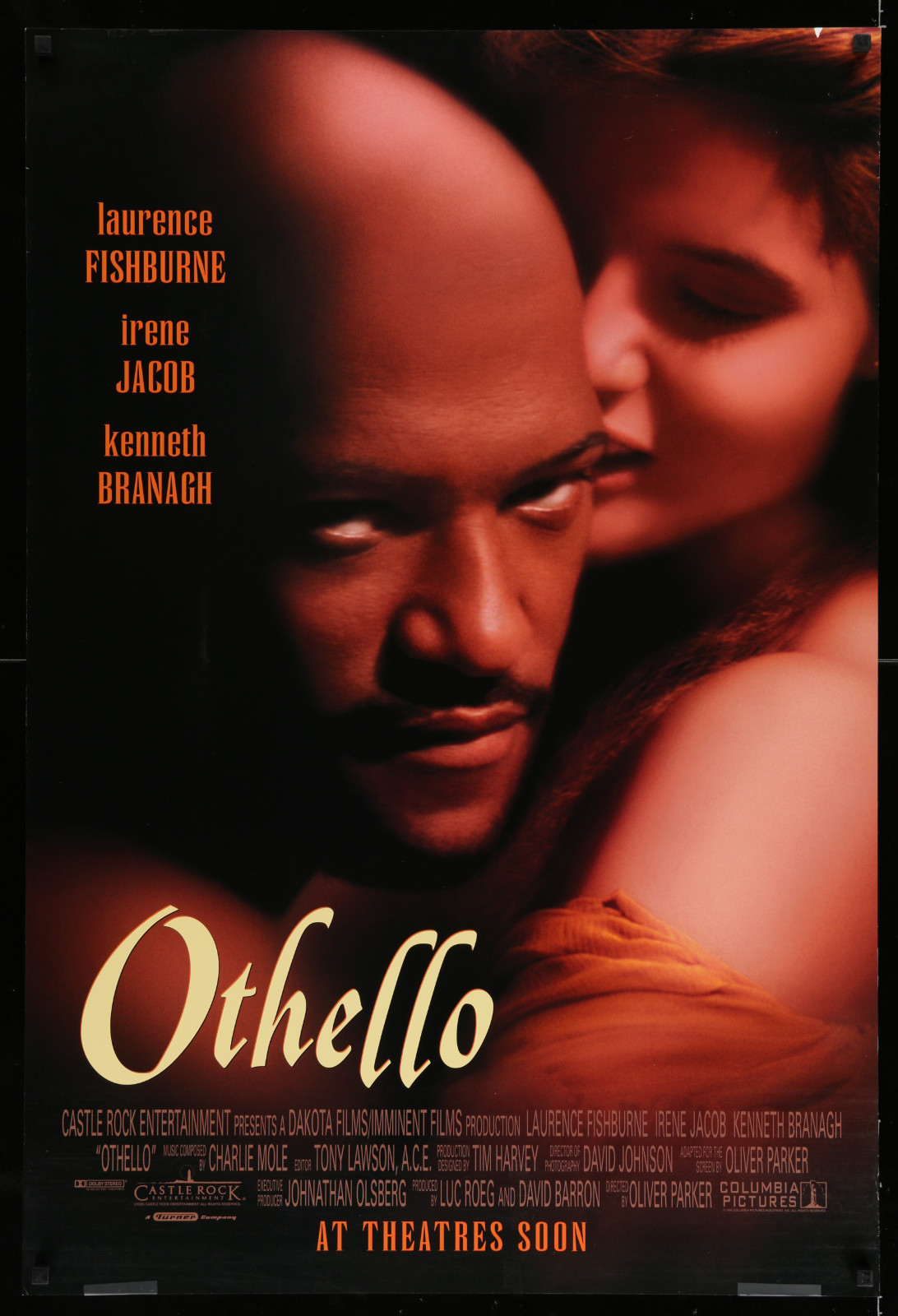 Othello 2A446 A Part Of A Lot 17 Unfolded Mostly Double-Sided 27X40 One-Sheets '90S-00S Great Movie Images!