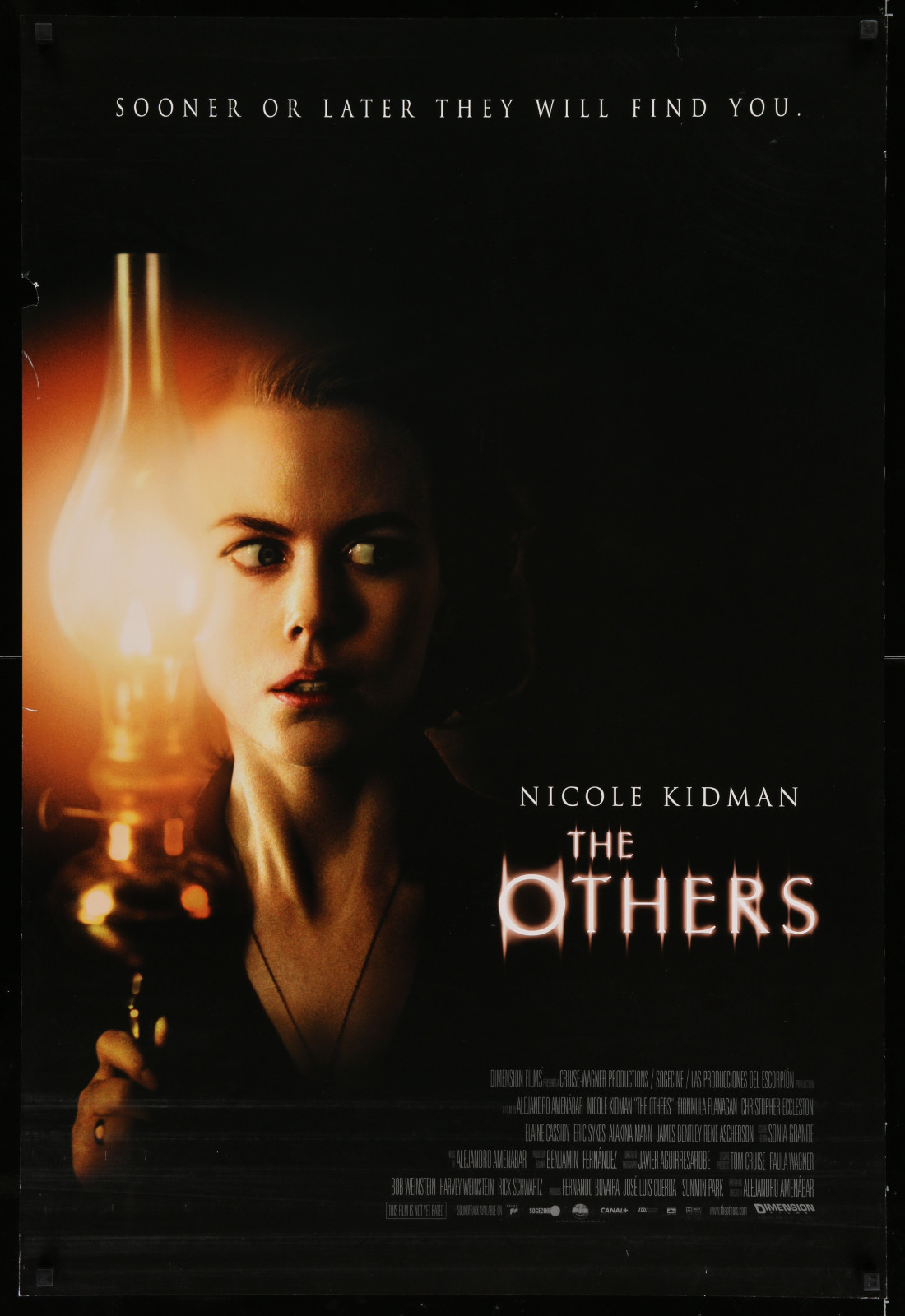 The Others 2A446 A Part Of A Lot 17 Unfolded Mostly Double-Sided 27X40 One-Sheets '90S-00S Great Movie Images!