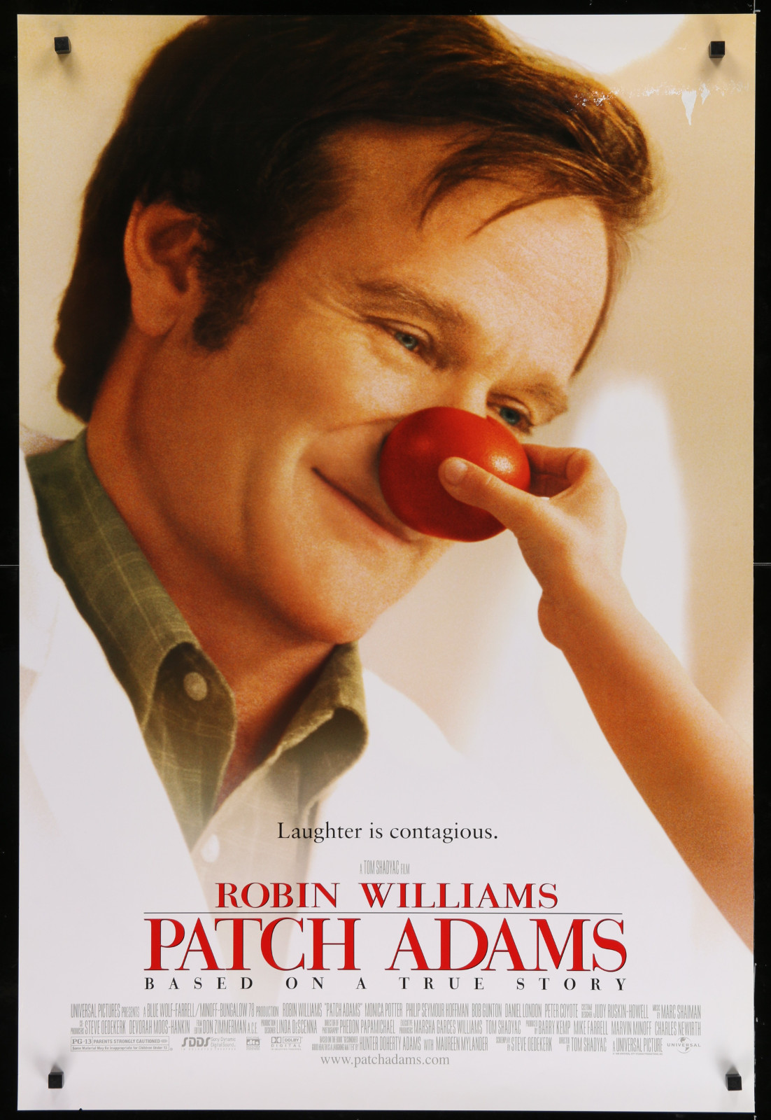 Patch Adams 2A393 A Part Of A Lot 23 Unfolded Mostly Double-Sided 27X40 One-Sheets '90S Great Movie Images!