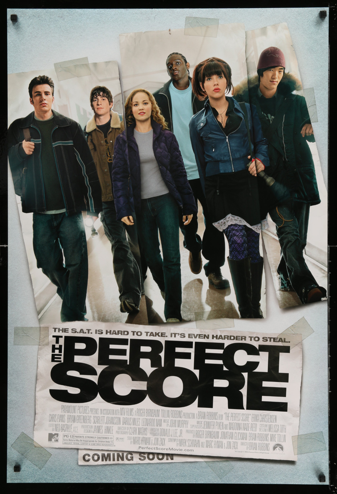The Perfect Score 2A414 A Part Of A Lot 20 Unfolded Double-Sided And Single-Sided One-Sheets '80S-90S Great Movie Images!