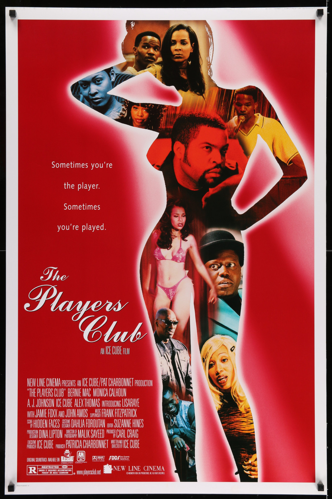 The Players Club 2A422 A Part Of A Lot 19 Unfolded Mostly Double-Sided 27X41 One-Sheets '90S-00S Great Movie Images!