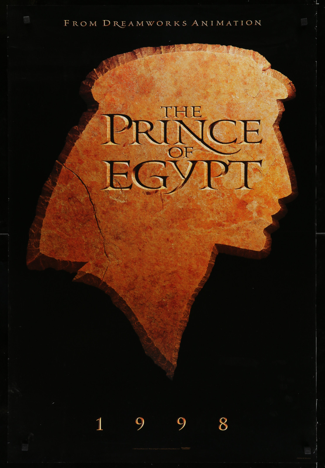 The Prince Of Egypt 2A393 A Part Of A Lot 23 Unfolded Mostly Double-Sided 27X40 One-Sheets '90S Great Movie Images!