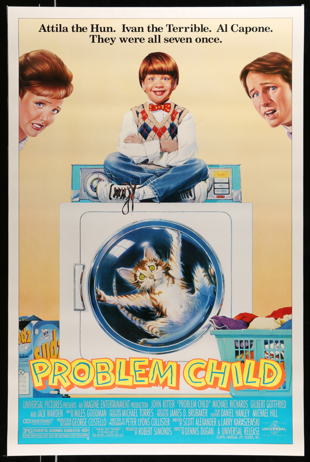 Problem Child 2A368 A Part Of A Lot 28 Unfolded Mostly Double-Sided Mostly 27X40 One-Sheets '70S-00S Cool Images!