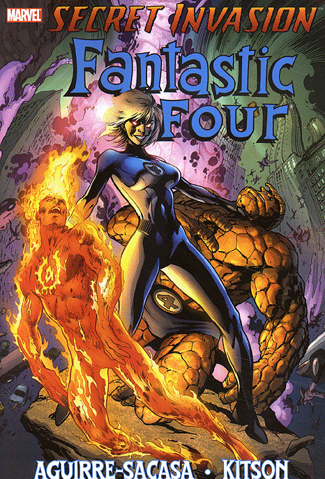 MARVEL Secret Invasion: Fantastic Four (TPB) [New VF]