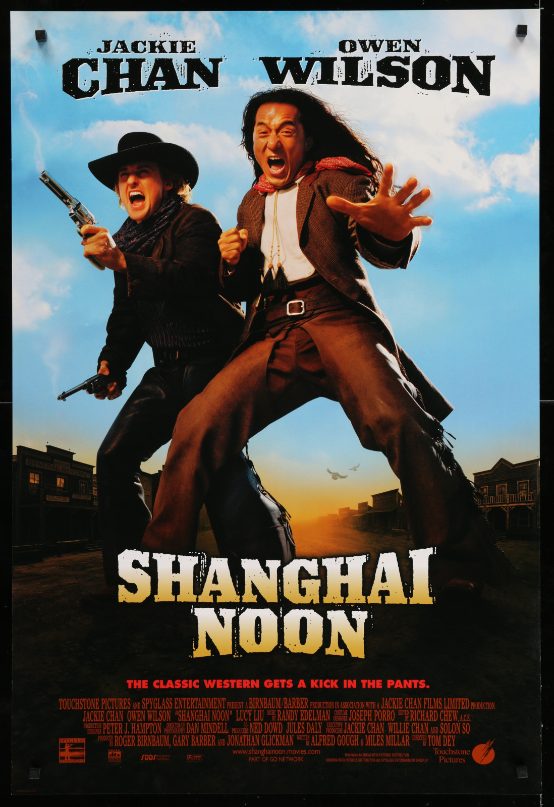 Shanghai Noon 2A366 A Part Of A Lot 29 Unfolded Double-Sided 27X40 One-Sheets '90S-00S Great Movie Images!