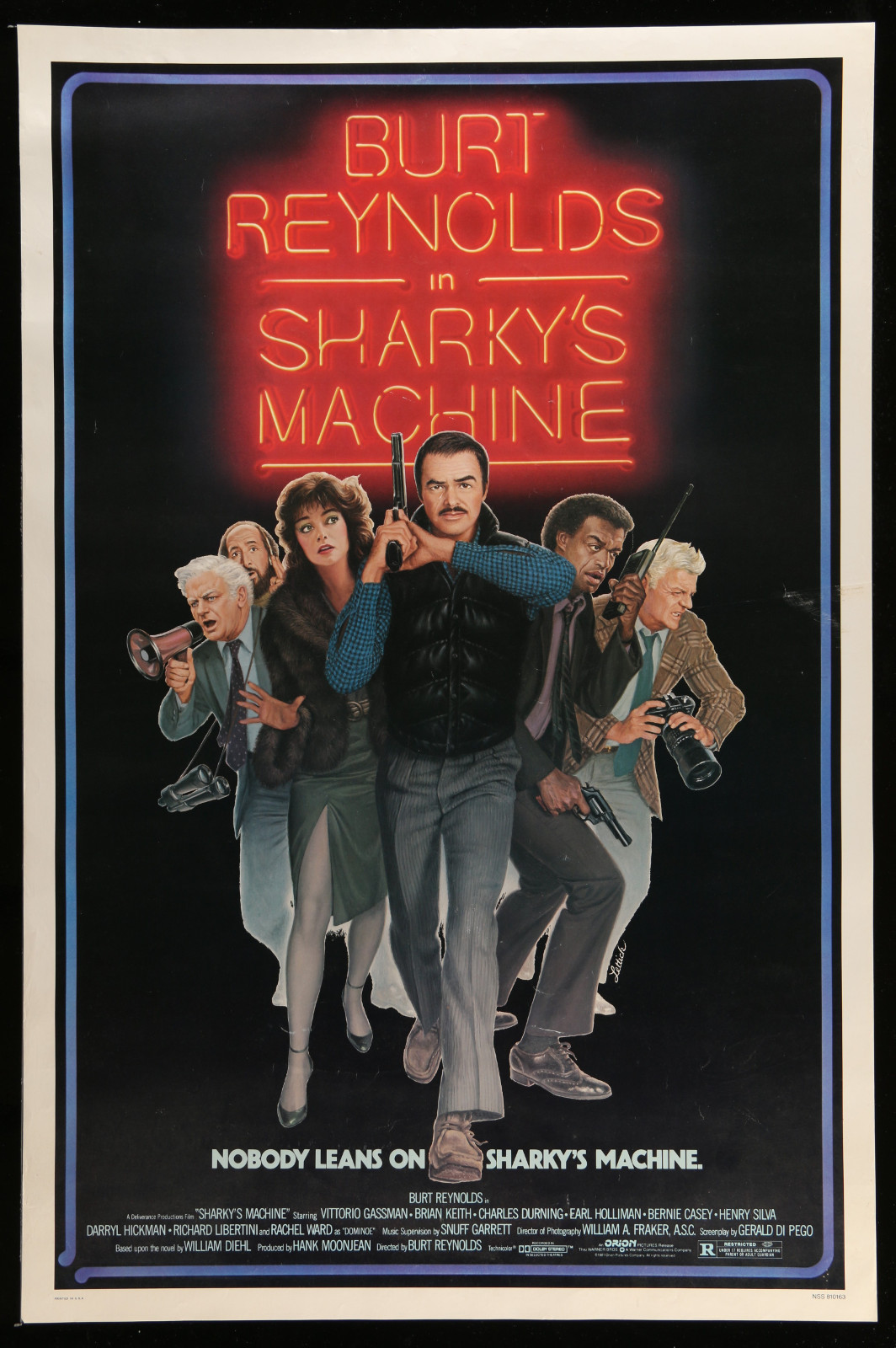 Sharky'S Machine 2A457 A Part Of A Lot 16 Unfolded Mostly Single-Sided Mostly 27X41 One-Sheets '80S-90S Great Movie Images!